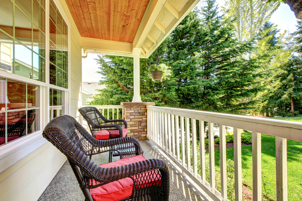 Building a porch 3 questions to ask yourself c and k for Questions to ask when building a home